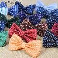 2016 человек papillon галстук мужской свадебный боути свадебная галстуки dot шеи носить высокое качество