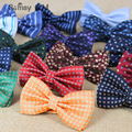 2016 man papillon bow tie male wedding bowtie mariage neckwear dot neck wear high quality