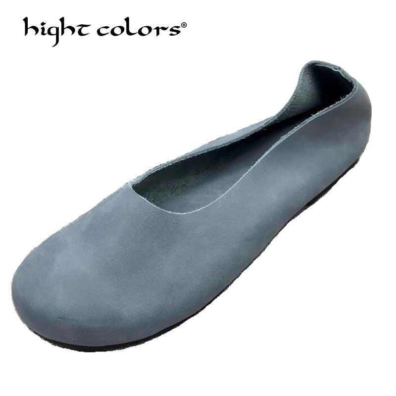 Ballet Flats 2019 brand design Fashion Flat Shoes Woman Casual Comfortable slip on Women Loafers Flats zapatos mujer 911-in Women's Flats from Shoes    1