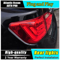 Car Styling LED Tail Lamp for Toyota Camry Taillights 2012 2014 Camry Rear Light DRL+Turn Signal+Brake+Reverse auto Accessories