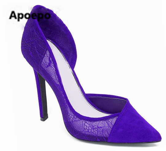 2017 Gorgeous Women black blue red women pumps sexy pointed toe high heels shoes shallow wedding shoes zapatos mujer ladies shoe depilflax воск в картридже 110 г манго