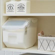 Plastic Sealed Rice Cylinder Moisture-proof Flour Storage Box Kitchen Grain Rice Container Moisture Household home стоимость