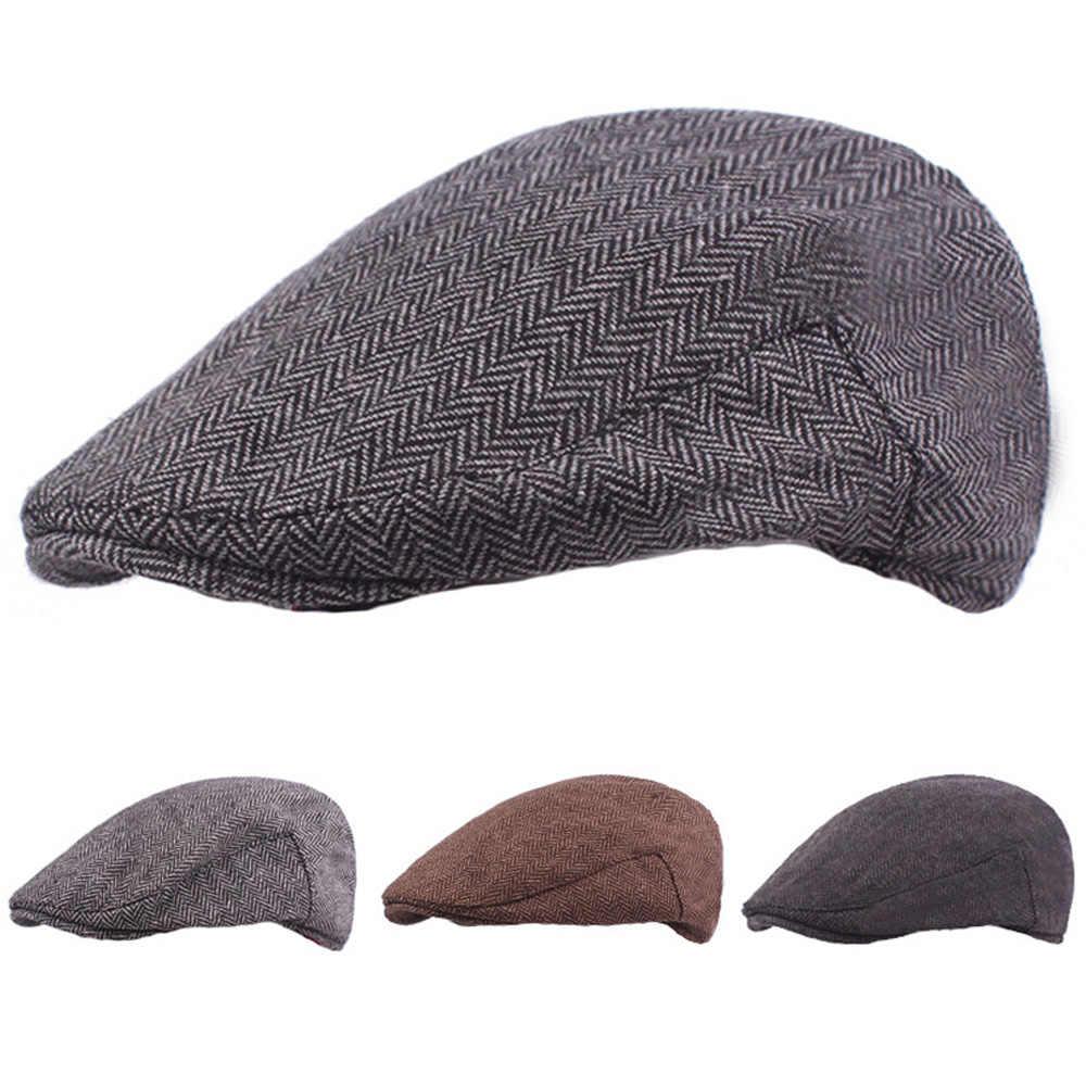 d6438d075 Detail Feedback Questions about Men Classic Winter Warm Berets ...