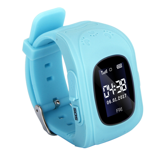 Kids Smart Watch Phone for Girls Boys Children LBS Tracker Real-time Location Smartwatch Support SIM Card Call SOS Remote