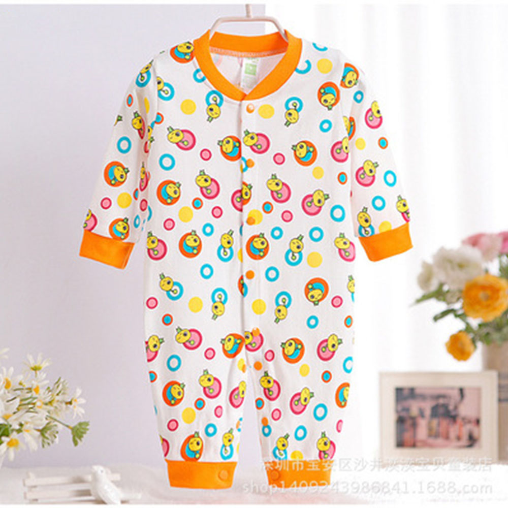 2016 New Arrival Baby Pajamas Rompers Boys Girl Infant Toddler Jumpsuit Long Sleeve Infant Cute Monkey Animal Pattern CL0885 newborn baby rompers baby clothing 100% cotton infant jumpsuit ropa bebe long sleeve girl boys rompers costumes baby romper