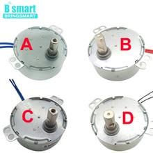 Синхронный двигатель с постоянным магнитом от 0,9 до 70 об/мин AC 5 В до 240 В CW CCW четыре типа вала для индукционной плиты с вентилятором