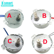 Permanent Magnet Synchronous Motor 0.9 To 70RPM AC 5V To 240V CW CCW Four Types Of Shaft For Fan Motor Induction Cooker