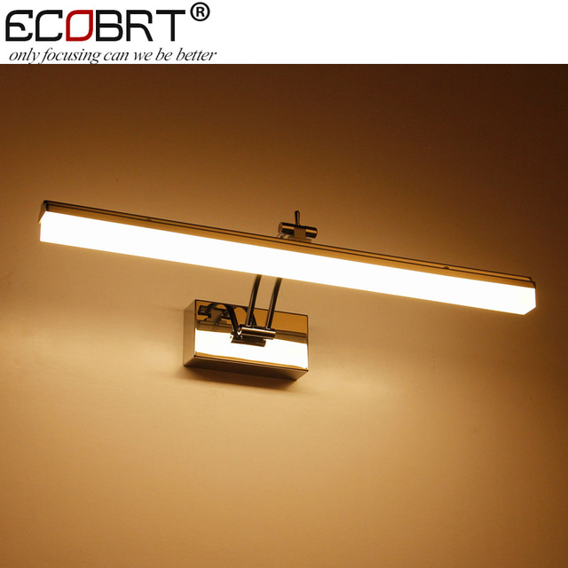 ECOBRT New LED Wall Lamps Swing Arm12W 49cm long Bathroom Lighting ...