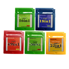 16 in 1 18 19 20 22 Video Game Memory Cartridge English Language Card for 16 Bit Console Save