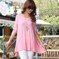 2016 spring plus size clothing women short-sleeve t-shirt summer new arrival elegant t-shirt tops & tees