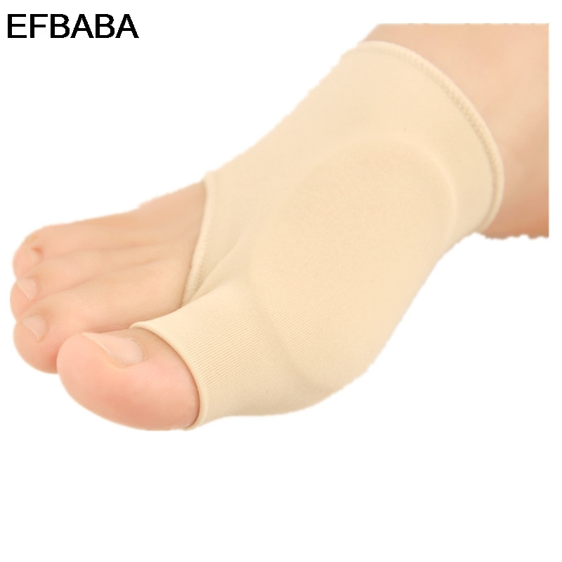 EFBABA Orthopedic Insoles Silicone Gel Insole Hallux Valgus Pain Relief Forefoot Pads Gel Cushions Orthopedic Shoes Accessoires hallux valgus orthotics big toe corrector foot pain relief feet guard care bone corretivo bunion night and day used splint