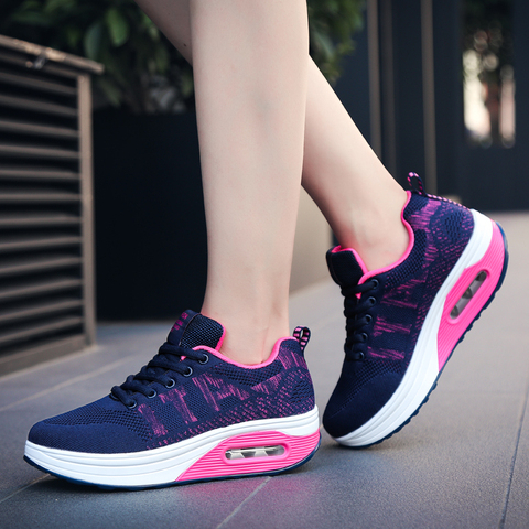 Women Running Shoes Air Black Dark Blue Women Sport Shoes Spring Summer Female Designer Sneakers Lightweight Tracking Shoes Islamabad
