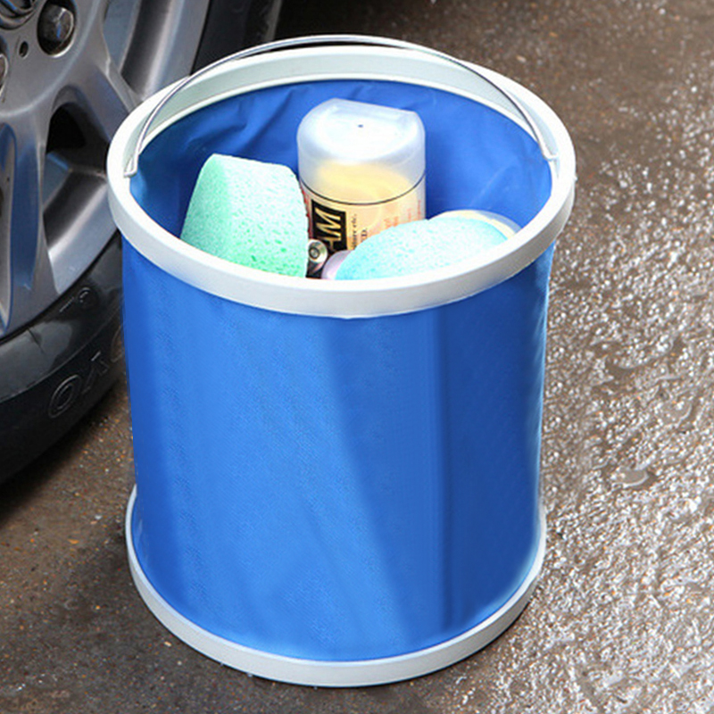 Bucket Car-Accessories Auto Detailing Washing Foldable Styling Camping Cloth Pail Oxford