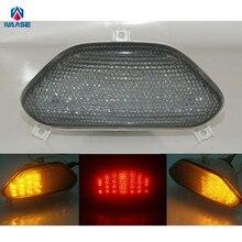 Ofertas especiales Waase para Suzuki Bandit 600 GSF600 1996 1997 1998 1999 e-mark luz trasera señales de giro integrado luz led