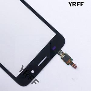 Image 3 - Panneau de Convertisseur Analogique Numérique En Verre Décran tactile Pour Huawei Y3 2017 CRO U00 CRO L02 CRO L22 Écran Tactile Écran Tactile Capteur De Lentille Avant En Verre