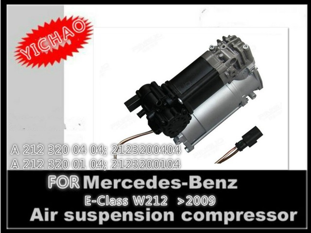 for mercedes suspension air compressors price used for Benz W212 body kit OEM A212 320 01 04 A212 320 0404