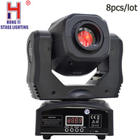 60W LED gobo moving head light spot christmas dj light projector for bar party event 8pcs/lot