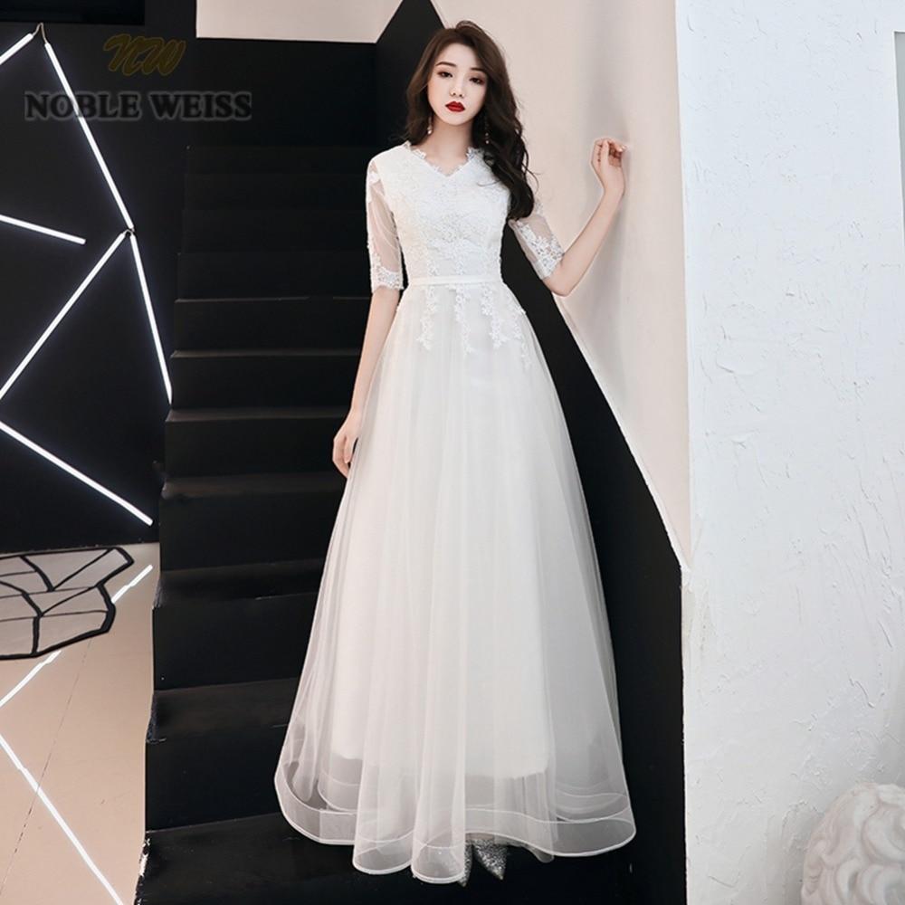 prom dresses v neck ivory tulle vestidos de festa floor length prom dress sexy appliques party