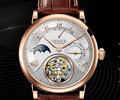 Часы из турбийона механическая ручная обмотка 25 драгоценностей