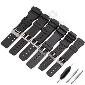 HENGRC Watchband Band Men Sports Black Strap Belt