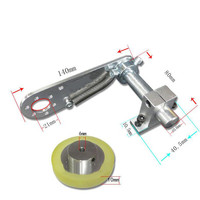 Mounting stand Encoder Non slip fixing bracket hardware holder with Synchronous wheel