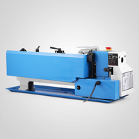 New Mini High Precision DIY Shop Benchtop Metal Lathe Tool Machine Variable Speed Milling Digital Display