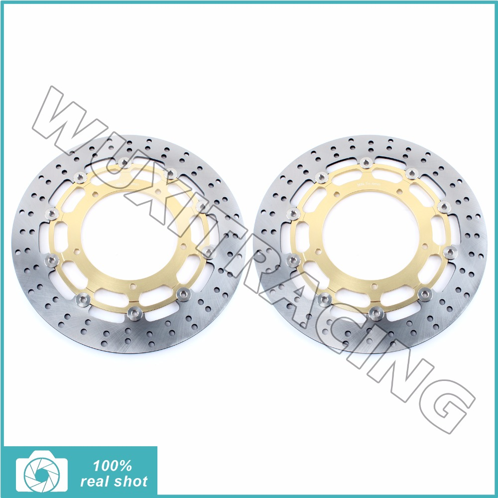 320mm new front brake discs rotors for yamaha fz1 1000 fazer abs 06-14 07 08 09 10 11 13 yzf r1 04-06