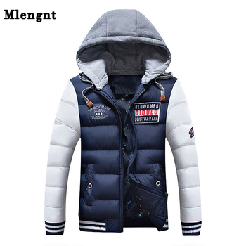 Men Thick Parka Fashion Cotton Jacket Autumn Winter 2018 Clothing Casual Classic Warm Baggy Windbreaker Zipper Hoodie Sweat Coat
