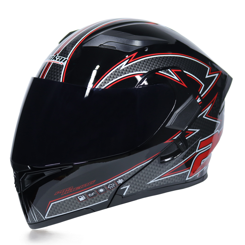 New Arrival Double Shield Motorcycle helmet DOT approved flip up motorbike helmet for all kids of