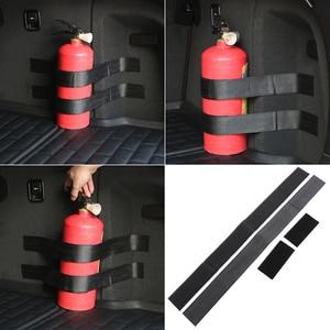4 Pcs/set Car fire extinguisher strap for Volkswagen VW Golf 4 6 7 GTI Tiguan Passat B5 B6 B7 CC Jetta MK5 MK6 Polo Scirocco(China)