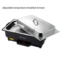 Electric heating adjustable temperature stove with Commercial Buffy furnace stainless steel cover Restaurant kitchen equipment