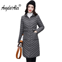 2017 New Winter Coat Women Fashion Cotton Jackets Warm and Slim Cotton Clothes Female Long Sleeve