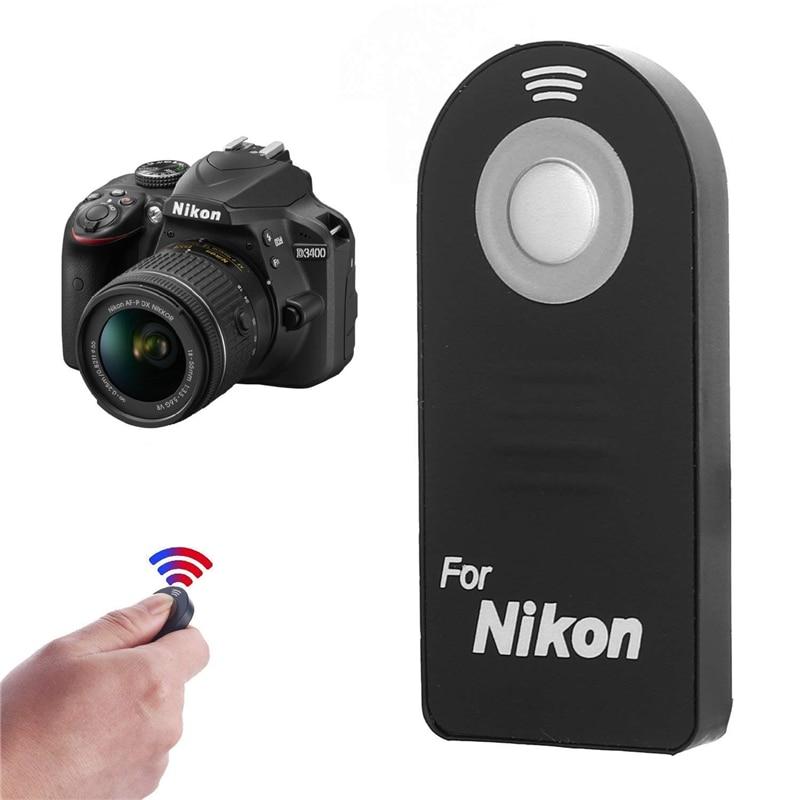 Disparador a distancia para Nikon d7000 d5000 d5100 d3300 d3200 d3000 d70 d60 d50 como ml-l3