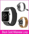 Hot Sale 1:1 Original Stainless Steel Milanese Loop Watchbands For Apple Watch Series 2 42mm 38mm With Strong Magnetic Closure
