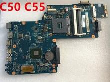 H000062010 Материнская плата ноутбука для Toshiba Satellite C50 C55 hm77 тест ОК