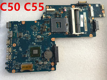 H000062010 placa mãe do portátil para toshiba satellite c50 c55 hm77 teste ok