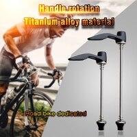 Dt espetos para bicicleta mtb  tiatinum liberação rápida para rodas de bicicleta de estrada suíça bike skewers road bike skewersbike wheel skewer -