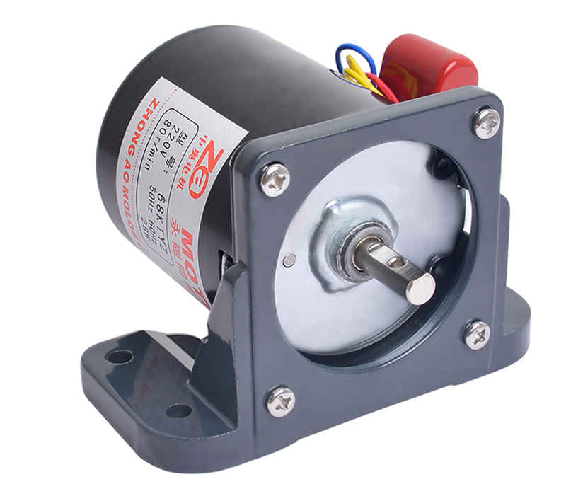 220V Gear Reduction Motor AC Permanent Magnet Synchronous Motor With Mount 68KTYZ 70KTYZ 2.5-110RPM Y
