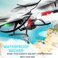 Drone jjrc h31 com câmera ou sem câmera à prova d' água resistência a queda modo headless quadcopter rc helicóptero vs syma x5c dron