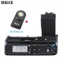 Meike ЖК-дисплей Экран удобный Батарейная ручка для цифровой однообъективной зеркальной камеры Canon EOS 550D 600D 650D 700D/EOS Rebel T2i T3i Камера с ES ИК-пульт дистанционного управления
