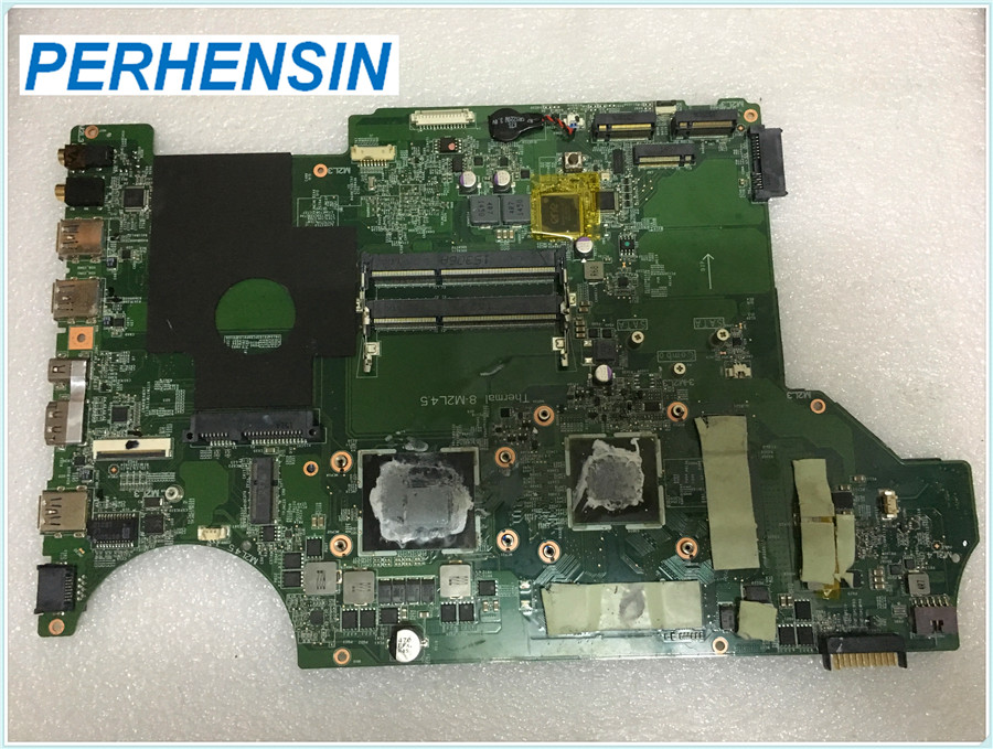 Фото FOR MSI GE62 PE70 Laptop Motherboard MS-16J21 MS-16J2 DDR3L Non-integrated SR1Q8  REV:1.0