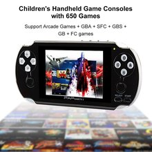 2017 Nouveau PAP Gameta II plus 4.3 Pouces 64 Peu Vedio Support de La Console de Jeu sans fil contrôleur MP5 de Jeu de Poche Joueurs