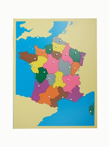 Puzzle map france montessori materials educational earning toys puzzle map france montessori materials educational earning toys wooden classic baby kids early learning educational gumiabroncs Images