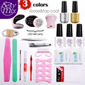 Sexy Mix 3 Color Gel Pro Nail Art UV Gel Kit Sets 3W UV Lamp Acrylic Nail Kit Nail Art Tools Extension Set for Nail Manicure Set