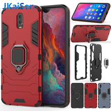 Armor Ring Case For OPPO R9S R11S Plus R15 R17 Case Magnetic Car Hold Shockproof Soft Bumper Phone Cover For OPPO A5 A39 Case цена и фото