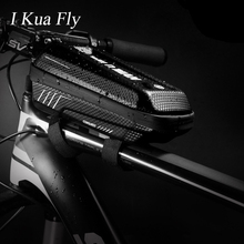 Bicycle Top Tube Front Beam Bag MTB  Road CyclingEVA Shell Anti Pressure Shock Rainproof Bike Accessories 4