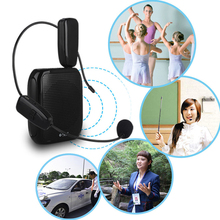 Portbale Microphone 2.4G Wireless Microphone Strong Compatibility Speech headset Megaphone Radio Mic for 50m Loudspeaker
