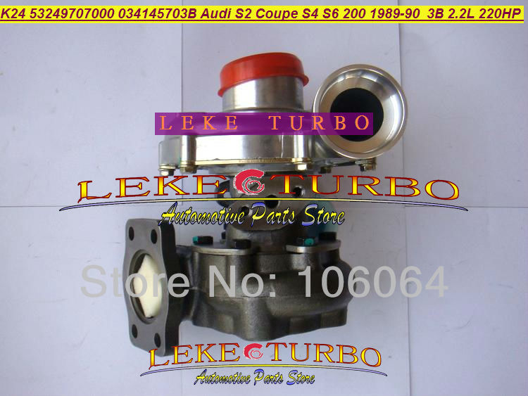 K24 53249707000 53249707002 53249887002 034145702 Turbo For Audi 80 S2 S4 S6 Coupe 200 quattro 1989- 3B AAN ABY 2.2L 220HP коробка передач audi 80 quattro б у куплю в донецкой области