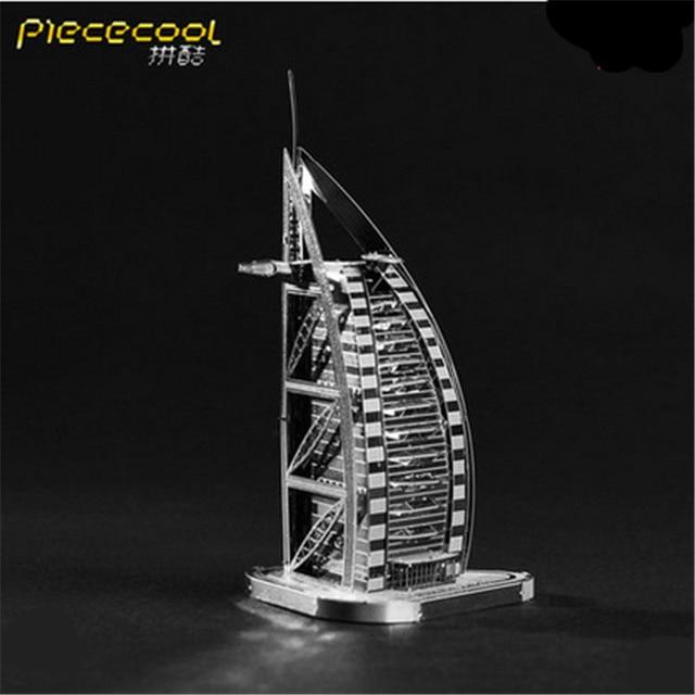 3D DIY Piececool Металлические Модели, P001-G Orignal Дизайн игрушка-Головоломка, образовательных Моделей Автомобилей Brinquedos, детские Игрушки