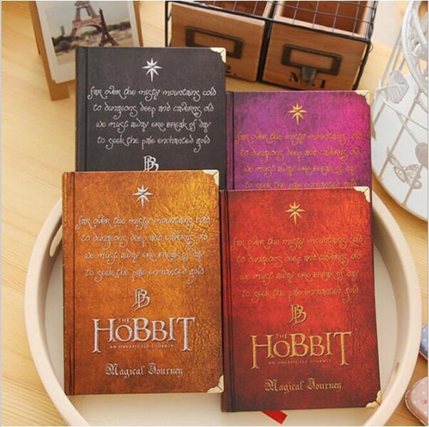 El Hobbit regalo de cuaderno diario nota libro programa planificador Material escolar caderno de papelería de oficina suministros GT104